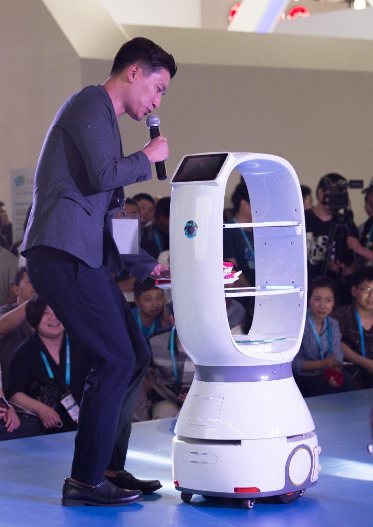 2017 CES Asia Robots -...